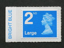 2nd Large NVI - MA11 - BRIGHT BLUE Colour Tab  from Counter Sheet SG; U2959