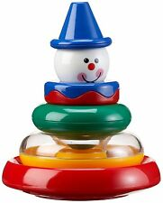 TOLO BABY - 6 giocattoli in 1 impilamento attività Clown (6 mesi +) NUOVO