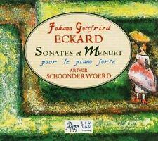 Johann Gottfried Eckard: Sonates et Menuet pour le piano forte New CD