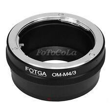 Adapter f Olympus OM Lens to micro M43 4/3 E-M10 E-M5 II EPM2 EM1 E-P5 E-PL6 GH4