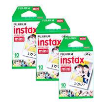 Fujifilm Instax Mini Films Compatible With Fuji Instax Mini Cameras. 30 Sheets