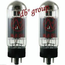 2x 6L6GC JJ-Electronic valvole valve NEW MATCHED coppia testate tubes amp