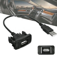 Car Dashboard USB 2.0 Ports Male to Female Extension Cable Fit Toyota Corolla