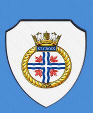HMCS ST CROIX ROYAL CANADIAN NAVY WALL SHIELD
