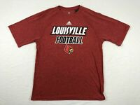 NEW adidas Louisville Cardinals - Red Poly Short Sleeve Shirt (Multiple Sizes)