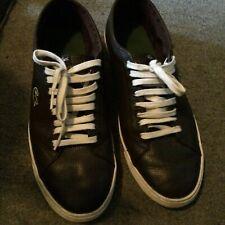 La Coste leather training shoes UK 11 EU 46