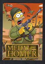 2007 Advertising Card: The Simpsons Game: Medal of Homer