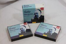 Satie L'Oeuvre pour piano Vols.1 & 2 CD Feb-2002 5 Discs EMI Classics Fance