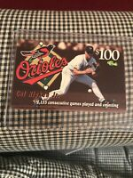 CAL RIPKEN JR. 1996 CLASSIC  $100 Calling Card  NM-MT RARE