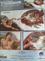 Janlynn Platinum  The Creation counted cross stitch kit sealed