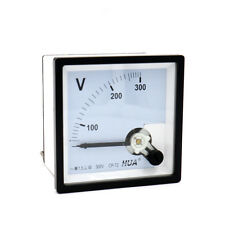 CP-72 Genauigkeit AC 300V Zifferblatt Analog Panel Meter Voltmeter Messgerät