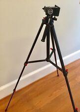 New In Box Vantage photographic tripod Model # VT-212;3 Way Head;geared; Locks
