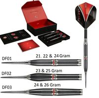 Target Daytona Fire Tungsten Steel Tip Darts - Stunning Designs - 21 to 26 Gram