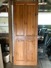 4 Panel Internal Pine Door Preowned and have been cut to size Solid doors