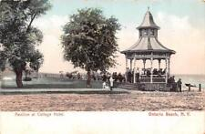 ROCHESTER, NY New York  PAVILION~COTTAGE HOTEL~ONTARIO BEACH  c1900's Postcard