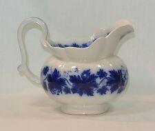 FLOW BLUE Upsala Ekeby Gefle VINRANKA Swedish Porcelain PITCHER