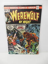 Werewolf By Night Marvel Horror Comic Book #10 Gerry Conway Story Tom Sutton Art
