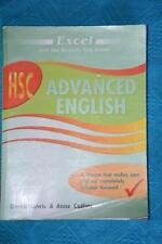 EXCEL HSC ADVANCED ENGLISH Study Guide. 2012 Lewis & Collins. GR8 Cond.