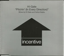 HI GATE Pitchin in every direction w/ 2 MIXES Europe CD single SEALED USA Seller