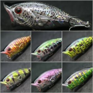 Topwater Fishing Lure wLure 2 1/2 inch Popper For Bass fishing Hard Bait T626