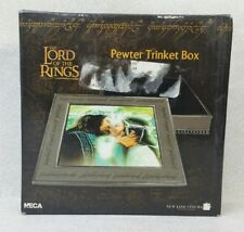 Lord Of The Rings Pewter Box Arwen and Aragorn New in Package