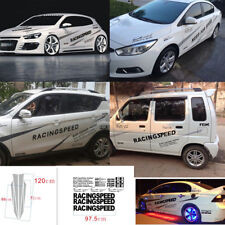 2x Car SUV Decal Vinyl Graphics Auto Offroad Two Door Sides Stickers Body Decals