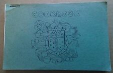 Vintage 1977 36th Engineer Brigade Ladies Fort Hood Texas Community Cookbook