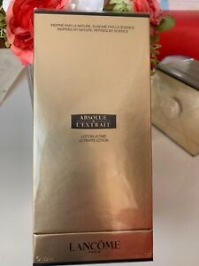 Sealed- Lancome ABSOLUE L'EXTRAIT Ultimate Lotion 5oz/150ml