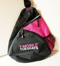 T-MOBILE TUESDAYS LARGE SLING BACKPACK W/LOTS OF ROOM INSIDE 7-30-19 BRAND NEW