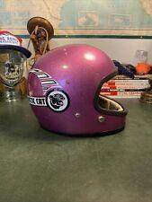 New listing Vintage 1970's Arctic Cat Full Face Helmet. Rare Medium