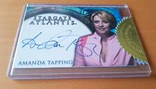 Stargate Atlantis Autograph Card Samantha Carter as Amanda Tapping
