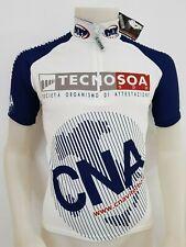 MAGLIA SHIRT CICLISMO TECNOSOA NUOVA TAG.S CYCLING ITALY GIRO GARA STRADA ES53