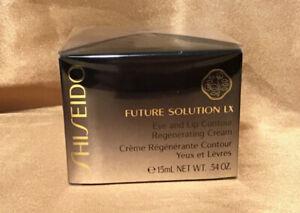 Shiseido Future Solution LX Eye And Lip Contour Regenerating Cream Sealed Full S