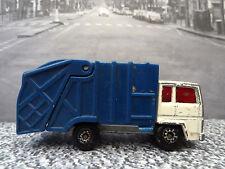 Vintage Matchbox Superfast Refuse Truck No.: 38 1979 hecho en Macao
