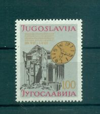 SOLIDARIETA'- SOLIDARITY WEEK YUGOSLAVIA 1977 Charity Stamp bilingual