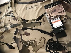 "Bnwtags Under Armour Barren Camo Iso-Chill Tshirt Nice! $40 3XL Loose Fit""""Hgear"