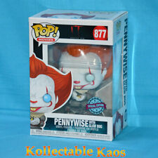 It Chapter 2 - Pennywise With Glow Bug US Pop Vinyl Figure Funko