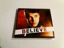 "JUSTIN BIEBER ""BELIEVE"" CD + DVD 16 TRACKS COMO NUEVO DIGIPACK DELUXE EDITION"