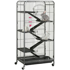 "52"" Animal Habitat Cage w/Stand and Feeder Ferret Chinchilla Small Animal House"