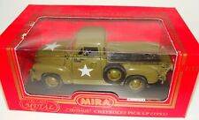 1:18 Solido Mira WWII Diecast U.S Army Chevrolet Chevy Pick Up Military Truck