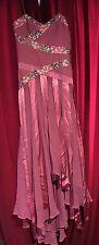 Party Prom IT Girl Dress by Liza Emanuele Australia Size 8 Silk RRP 359