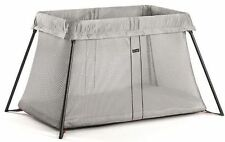 Baby Bjorn Travel Cot Light - Silver Mesh