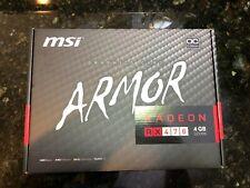MSI AMD RX 470 4GB Graphics Card Armor 4G OC