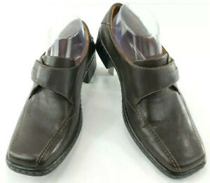 Josef Seibel Womens Comfort Shoes Heels Leather Slip On Pumps sz EU 39 US 8.5
