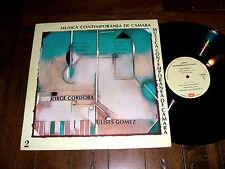 Jorge Cordoba / Ulises Gomez - Musica Contemporanea De Camara 2 Import LP NM/VG+
