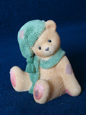 Cherished Teddies - Meredith - Girl Wearing Green Hat And Scarf - 534226 - 1999