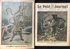 """""""SCAPHANDRIERS"""" DEUX  NUMÉROS DU PETIT JOURNAL  1920 ET 1912"""