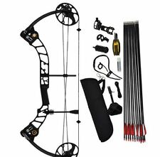 Compound Bow Full Set T1 Jungle max Draw Hunting Archery Arrow Hunter Black