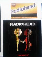 Radiohead-2 promo items BEST OF sticker 2008+NYC METRO CARD parody rare unused