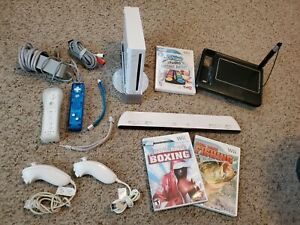 Nintendo Wii Bundle!!!! Comes with cords, 2 controllers, and much much more.....